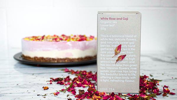 Tea Recipe – Strawberry & White Choc Mousse Cake