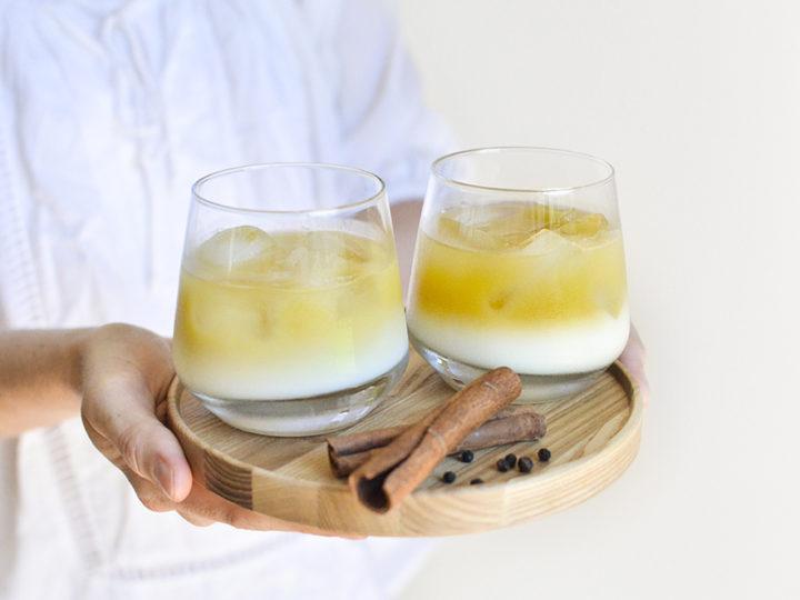 Golden Milk on Ice